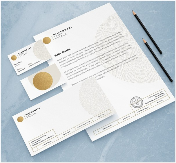 Stationery mock-up set vol.1