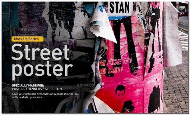 Street Poster Mock-Up