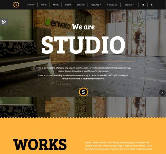 Studio-Multipurpose Video,Parallax,Slider Bg Theme