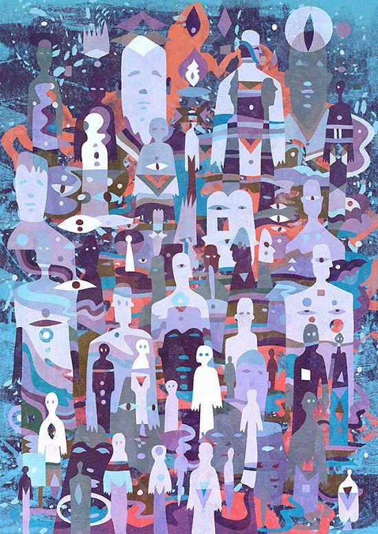 Stunning Pneuma Doodle Art Template