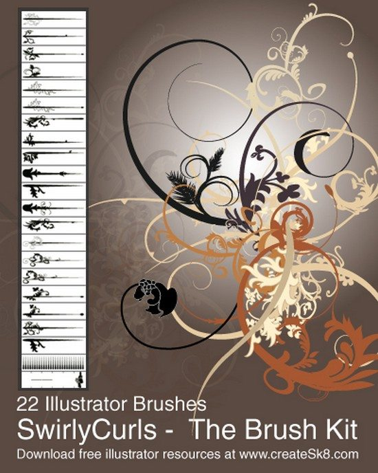 Swirly Curls – Sick Brush Kit