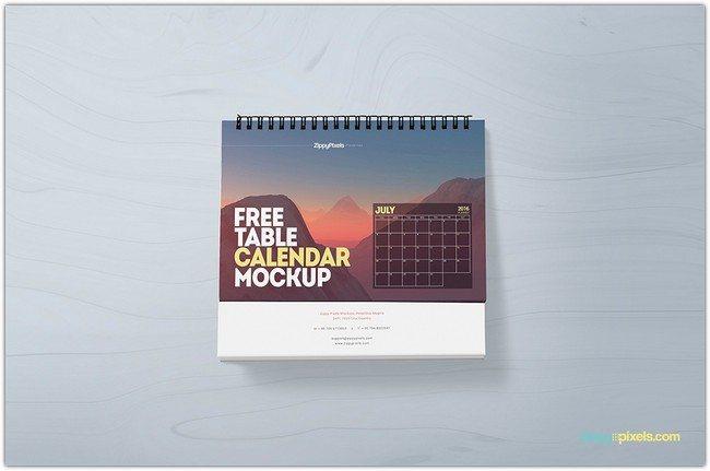 Table-Calendar-Mockup