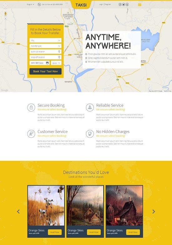 Taksi HTML