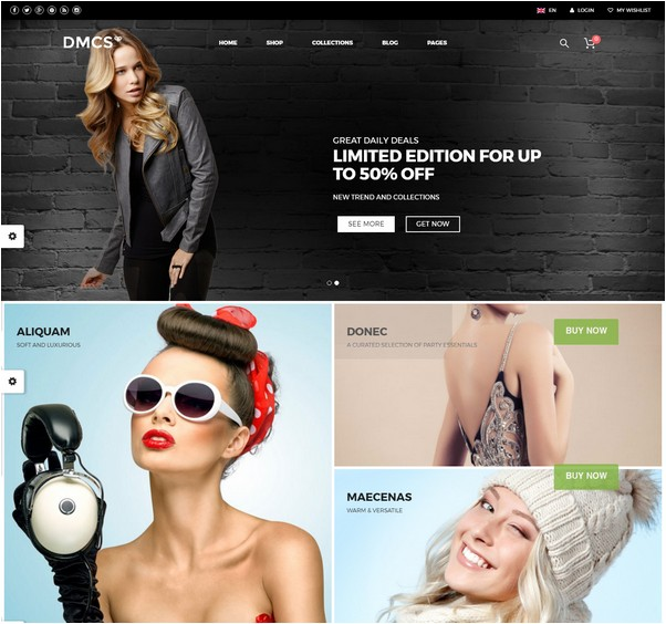 The DMCS - WooCommerce Theme