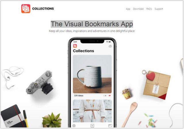 The Visual Bookmarks App