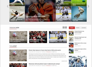 News HTML5 Website Templates