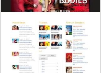 Entertainment HTML5 & CSS3 Website Template