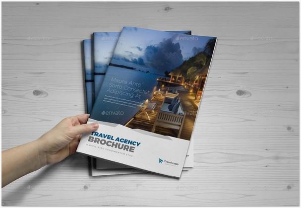 Travel Agency Brochure Catalog InDesign v3
