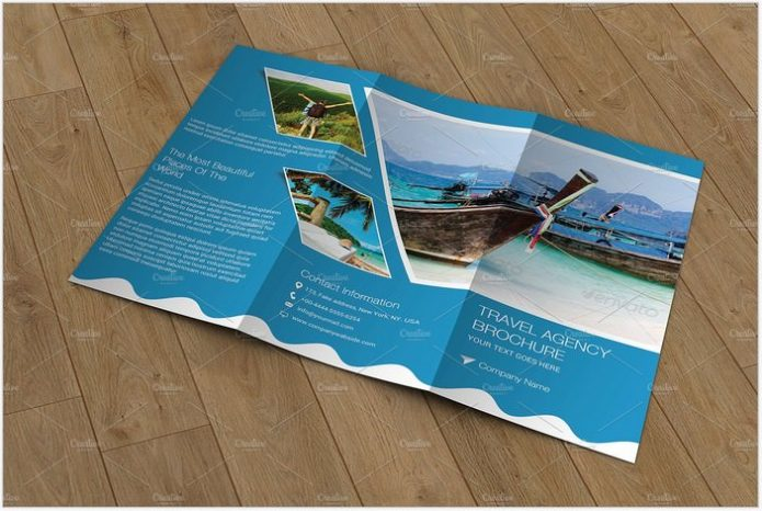 Travel Agency Brochure V762