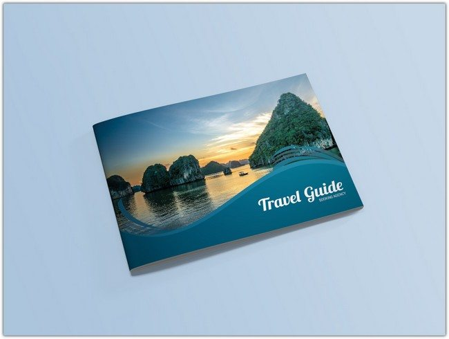 Travel Guide Catalog Brochure