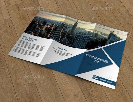 Trifold Business Brochure-V187