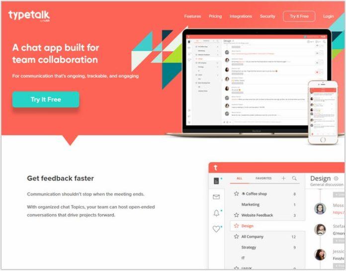 Type Talk-Single Page