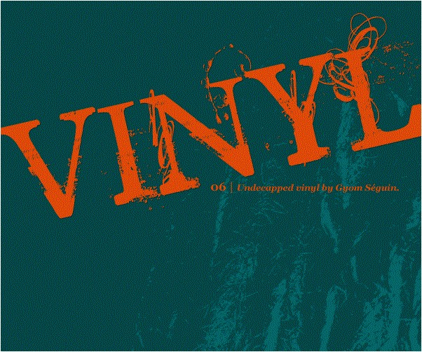 UNDECAPPED Vinyl Font