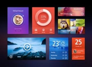 Metro Style UI Kit