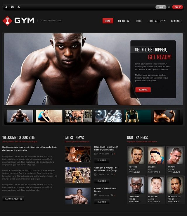 Ultimate Fitness WordPress Themes