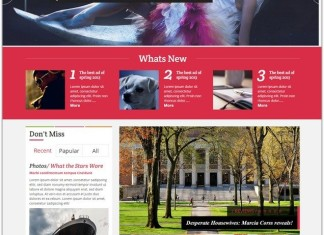 Magazine HTML5 Website Templates