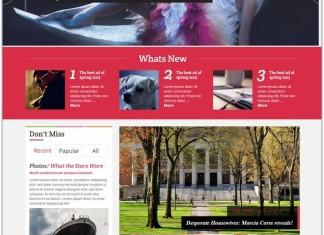 Magazine HTML5 Website Templates