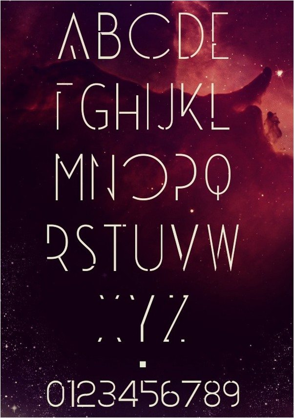Universe - Free Font