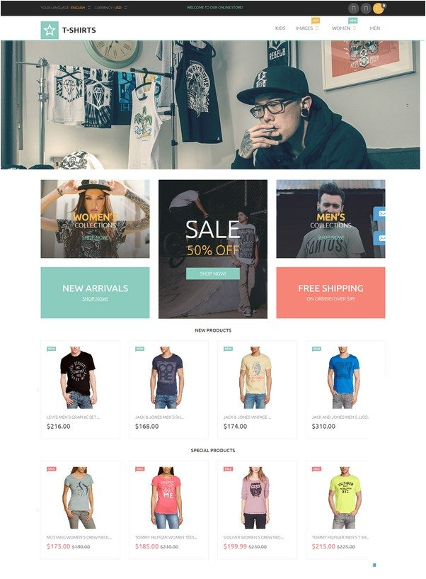 Urban Clothing Store Magento Theme