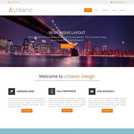 Urbanic HTML5 Template