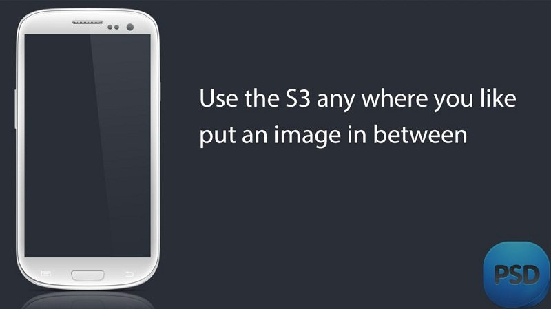 Useful Samsung Galaxy S3 PSD