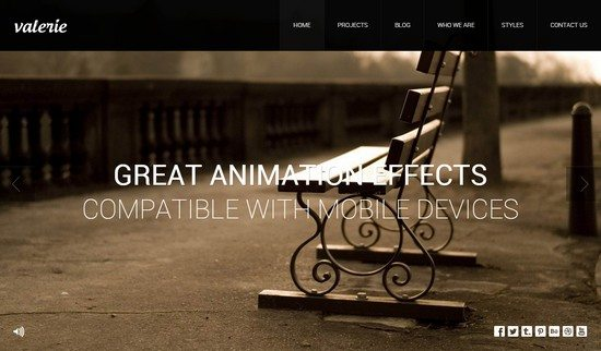Valerie – Photography WordPress Theme
