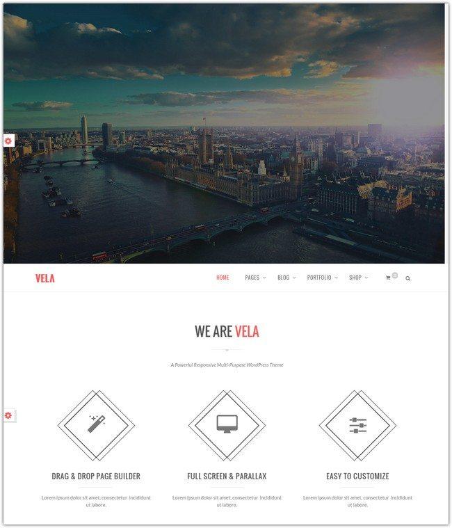 Vela - Responsive Business Multi-Purpose Theme