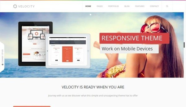 Velocity - Feature Rich Drupal Theme