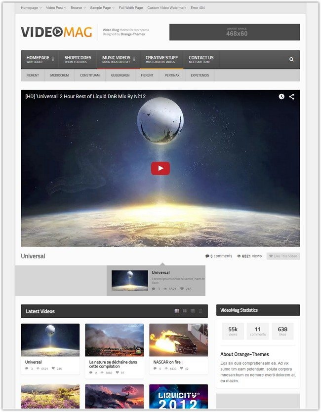 VideoMag – Powerful Video WordPress Theme