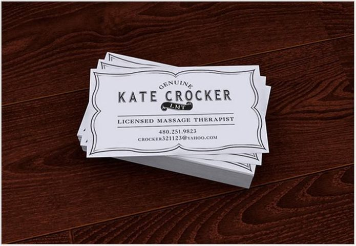 Vintage Business Cards