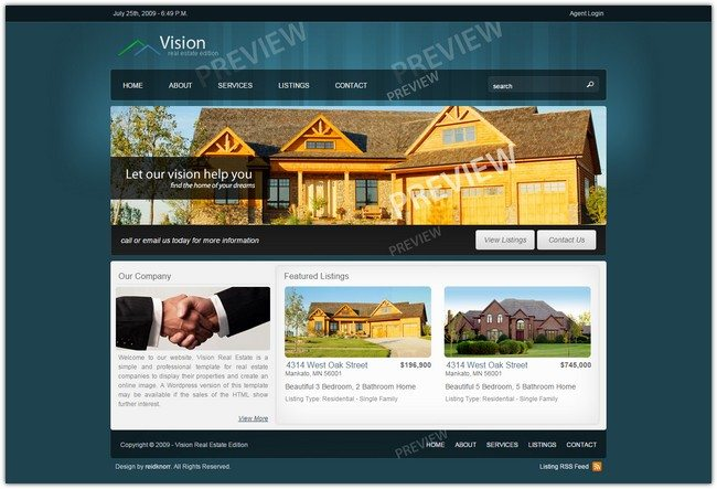 Vision - Real Estate Edition