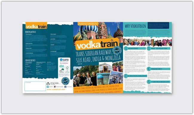 VodkaTrain - Re-branding & Print