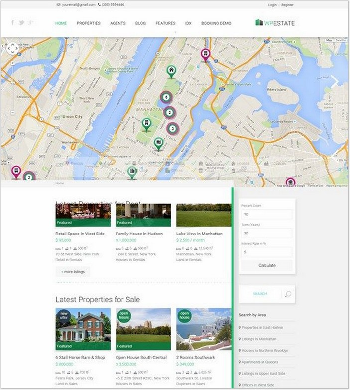 WP Estate – Real Estate Responsive WordPress Theme