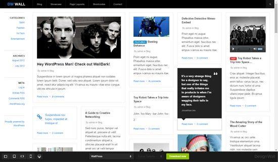 WallPress Free Responsive WordPress Theme