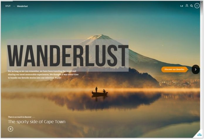 Wanderlust- Single Page Examples