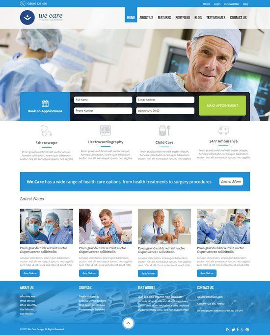 We-Care-Premium-Medical-HTML-Template