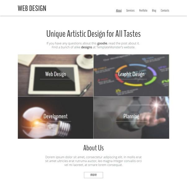 Web Design Studio Website Template