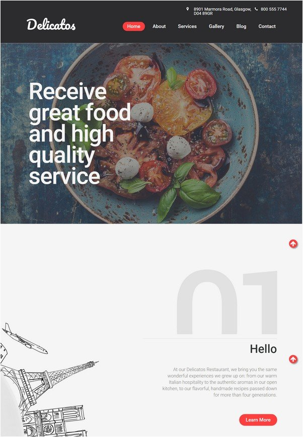 21+ Food Delivery Website Templates For Online Food Store 2018 ...