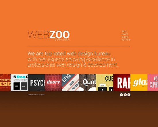 Webzoo Design Studio Website Template