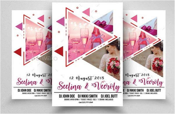 Wedding Invitation Flyers