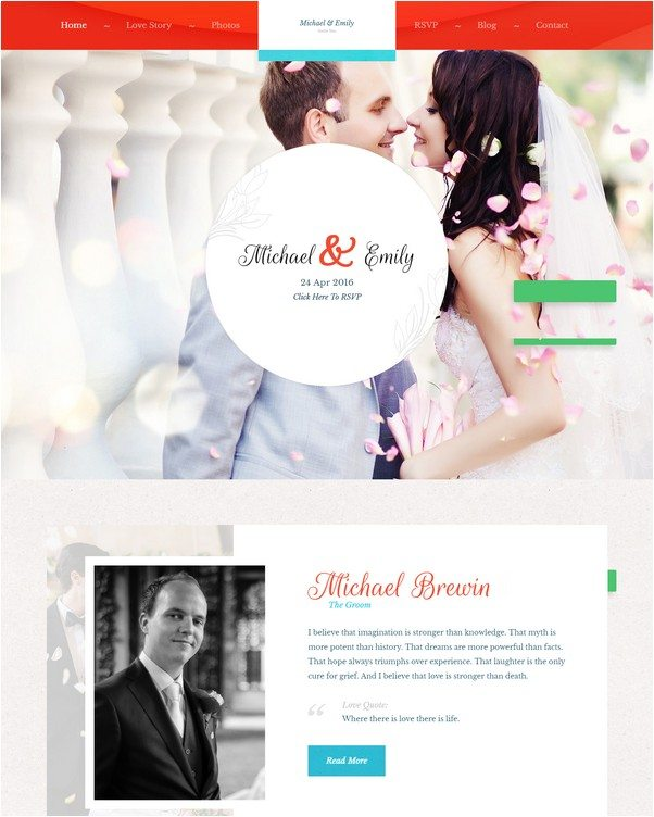 Wedding Michale & Emily