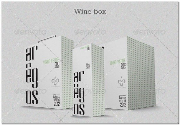 Wine Box Mock-up