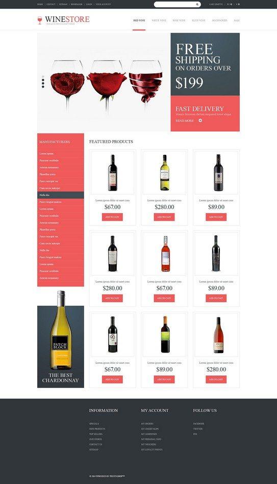 Wine Lovers PrestaShop Theme