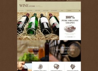 Wine Store PrestaShop Theme