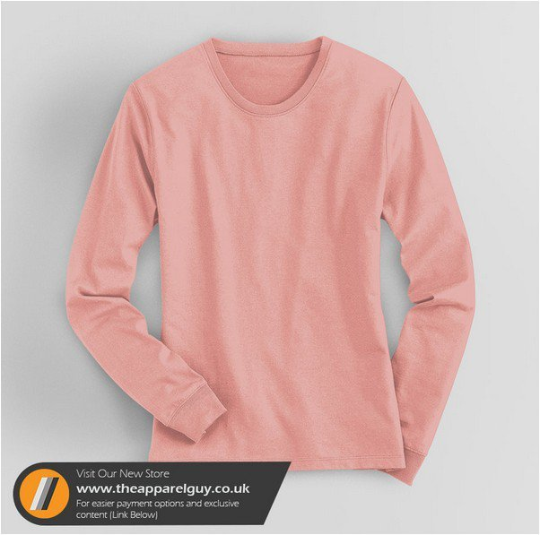 Women's Long Sleeved Tee PSD