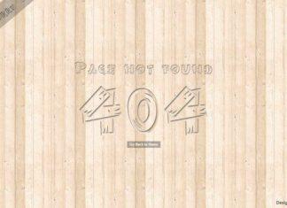 404 Website Template