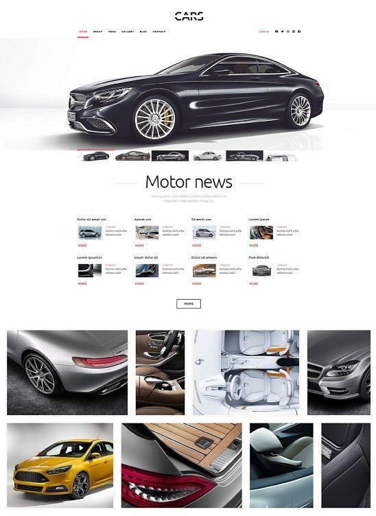 WordPress Cars Theme