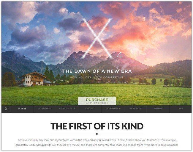 X WordPress Theme The Theme