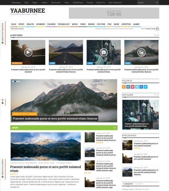 Ya'aburnee – Magazine & E-Commerce Theme