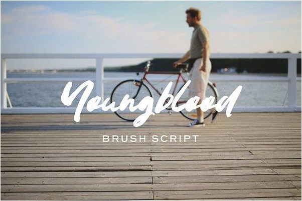 Youngblood font